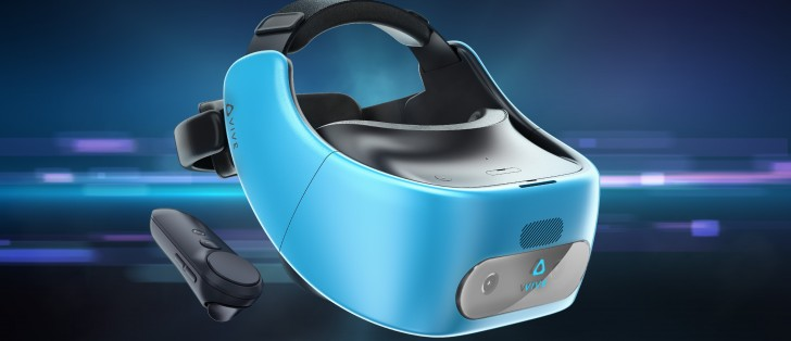 """Vive Focus, its first standalone VR headset, goes """"world-scale"""""""