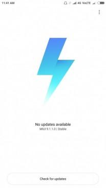 MIUI 9 on Xiaomi Mi 5
