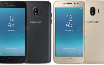 Listing reveals Samsung Galaxy J2 (2018) price