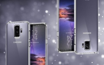 Case renders confirm only the Samsung Galaxy S9+ will have a dual camera