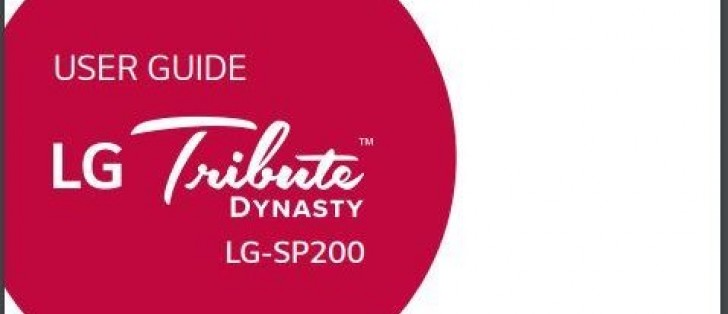 New LG Tribute Dynasty smartphone surfaces, coming to Sprint