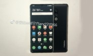Image of Meizu 15 Plus confirms bezel-less design
