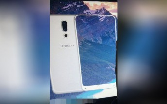 Meizu 15 Plus first images reveal no bezels from three sides