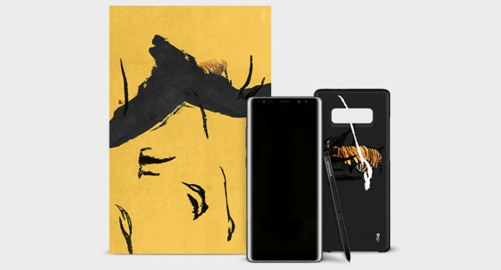 Samsung Galaxy Note8 X 99 AVANT - limited edition, artsy phone goes on sale