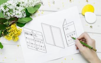 Samsung patents foldable dual screen phone with focus on gaming