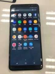 Leaked live photos of an alleged Galaxy A8+ (2018)