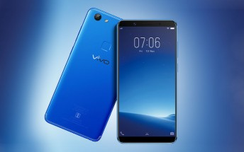 vivo V7 arrives in Energetic Blue