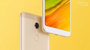 Xiaomi Redmi 5 Plus in Gold