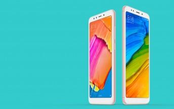 Xiaomi announces the Redmi 5 and Redmi 5 Plus with 18:9 screens
