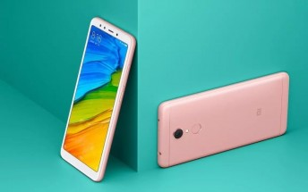 Xiaomi Redmi 5 and Redmi 5 Plus pricing appears on Aliexpress
