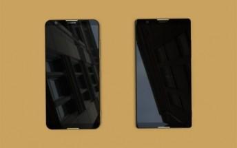 Upcoming fullscreen Xperia smartphones leak in images