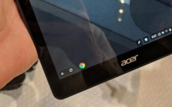 Chrome OS spotted running on an Acer tablet in the wild