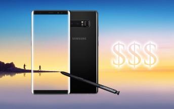 Deal: Samsung Galaxy Note8 (Exynos, dual-SIM) on eBay for $725