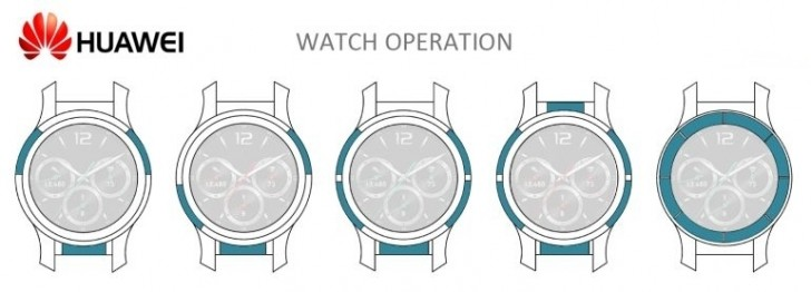 Huawei patents touch-sensitive bezel for smartwatches