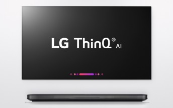 LG teases 2018 TV range with built-in Google Assistant