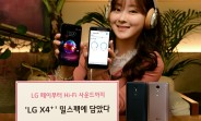 LG X4+ unveiled in Korea: a MIL-STD rated phone with 32-bit DAC