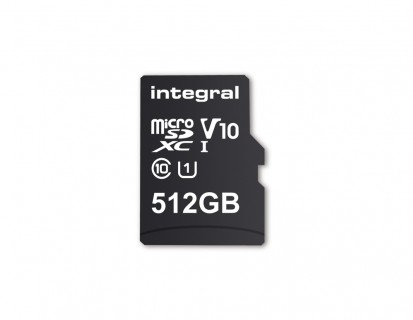 512GB microSD card by Integral Memory
