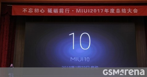 Xiaomi kicks off MIUI 10 development - GSMArena com news