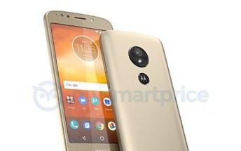 Moto E5 leak shows Motorola logo on back doubling as fingerprint sensor