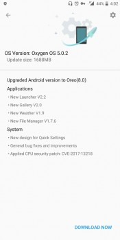OnePlus 5T gets stable Android 8.0 Oreo
