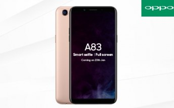 Oppo A83 escapes China, launching in India this week