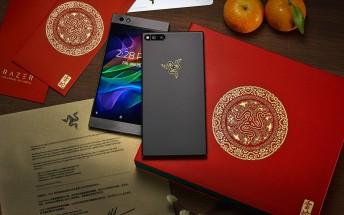 Limited Razer Phone 2018 Gold Edition celebrates the Spring Festival