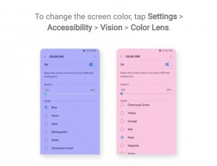 Color Lens and Automation