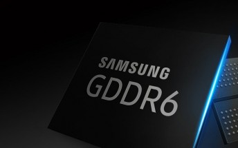 Samsung starts mass producing GDDR6 chips for next-gen graphics cards