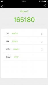 iPhone 7: AnTuTu (before)