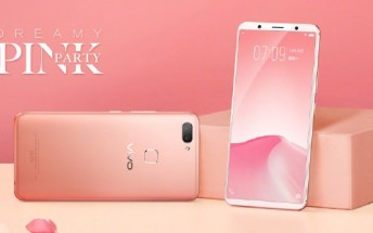 vivo X20 gets new pink color option