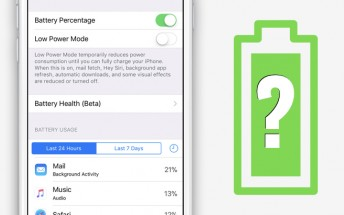 Apple's second Beta of iOS 11.3 introduces Battery Health Beta