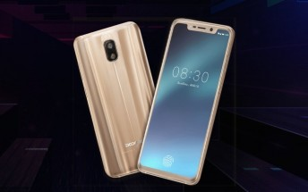 Doogee V with in-screen fingerprint scanner to be introduced at MWC 2018