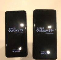 Live photos of the Samsung Galaxy S9 and S9+