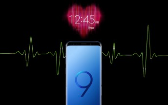 The Samsung Galaxy S9 and S9+ can measure your blood pressure