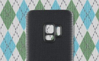 Hyperknit covers for the Samsung Galaxy S9 spotted in online store