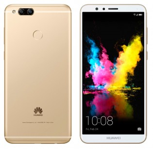Unnamed Huawei phone, model number BND-L34