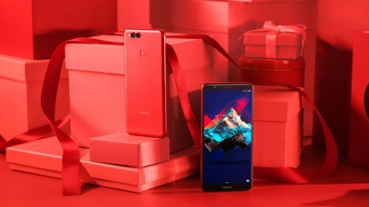 Red Honor 7X arrives in US for St. Valentine's Day