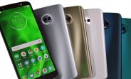 New leak shows all the colors of the Moto G6 Plus