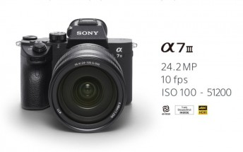 Sony announces A7 III full-frame mirrorless camera