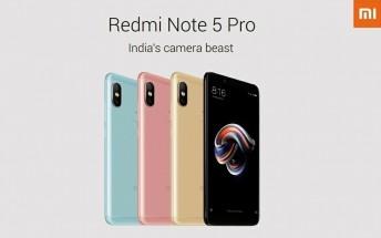 Xiaomi Redmi Note 5 and Redmi Note 5 Pro specs leak in full
