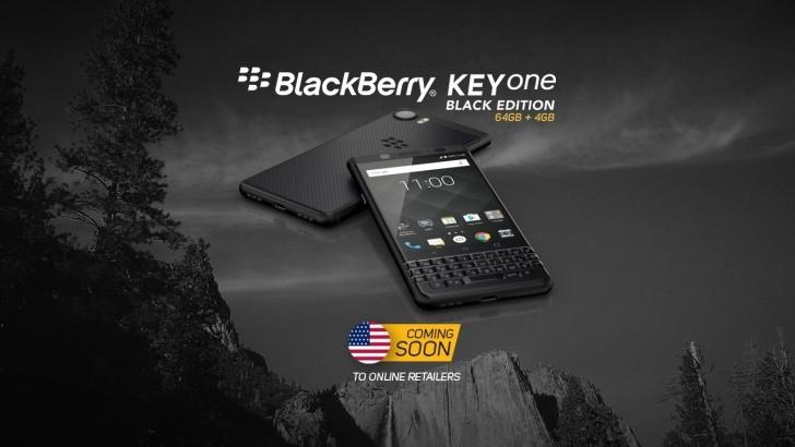 BlackBerry Keyone Black Edition arrives to US online retailers