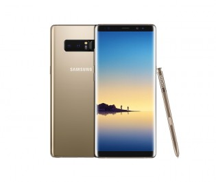 Samsung Galaxy Note8 in Maple Gold