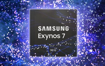 Samsung unveils Exynos 7 9610 with 480fps slow-mo support