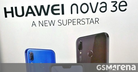Poster confirms the Huawei Nova 3e is the P20 Lite's Chinese name