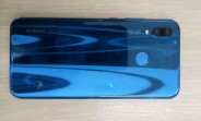 Exclusive: Here's another look at the Blue Huawei P20 Lite