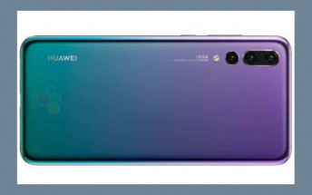 Huawei P20 trio's press renders and specs pour out