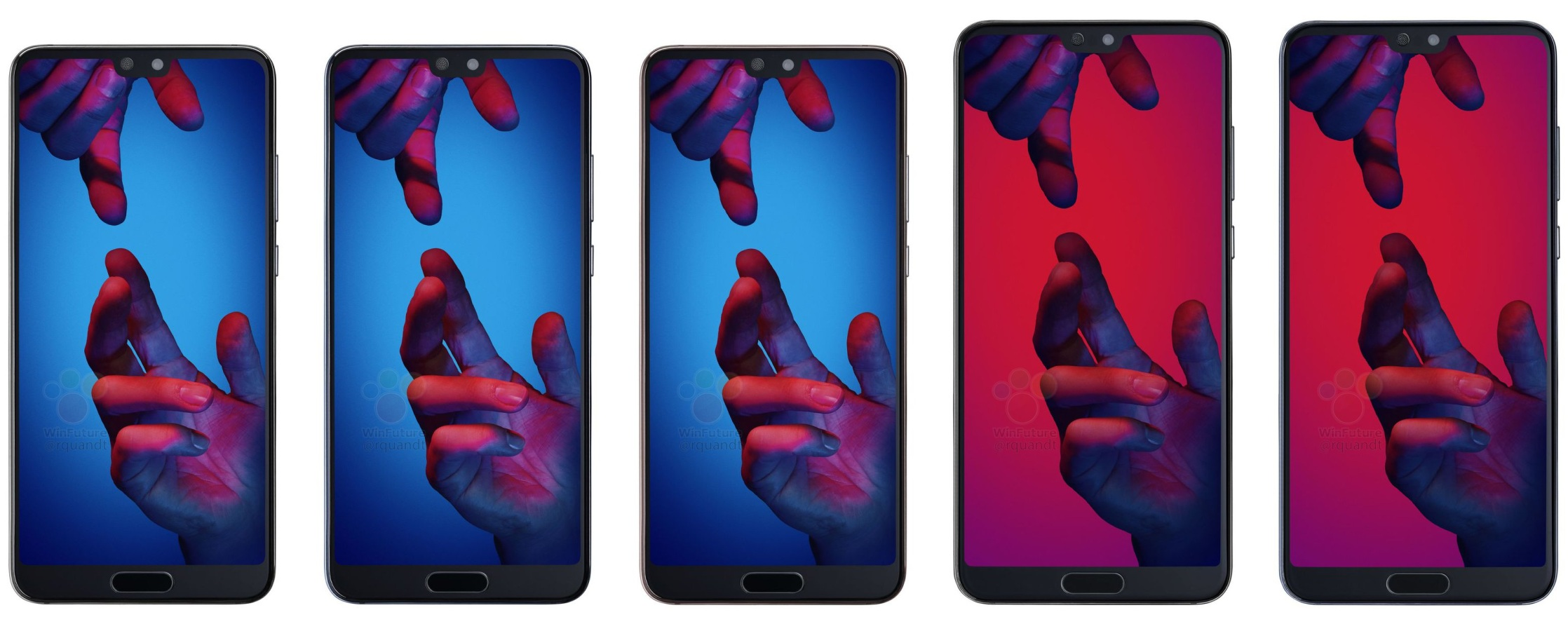 Huawei P20 to cost €679, P20 Pro to be €899 in Europe, latest leak reveals