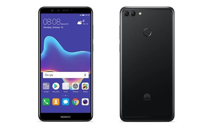 Huawei Y9 (2018) goes official: 2 cameras front and back, 4,000mAh battery and Oreo
