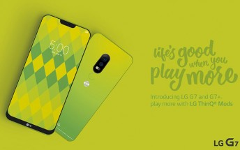 No, this isn't the LG G7 in Lime Green