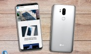 Notch and no bezel - renders show the LG G7